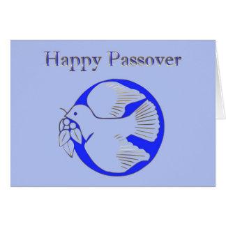 Passover Pesach que saluda la estrella hebrea Tarjeta De Felicitación