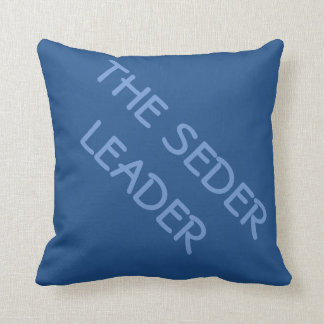 PASSOVER PILLOW THE SEDER LEADER