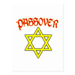Passover Red, Black & Gold Postcards