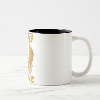 Passover Sameach Two-Tone Coffee Mug