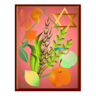 Passover Seder_2 Postcard