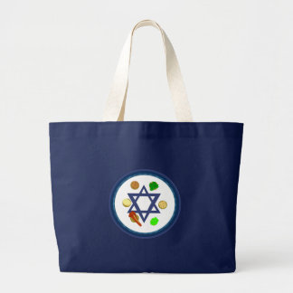 Passover Seder Plate Tote Bags