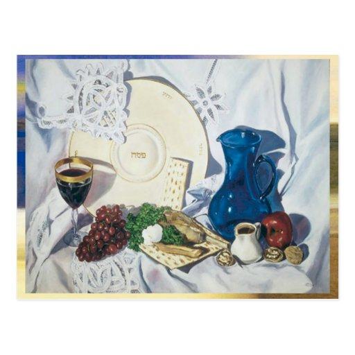 Passover Seder Tarjetas Postales