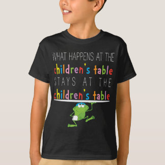 """Passover """"The Children's Table"""" T-Shirt"""