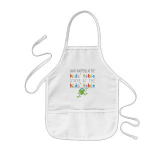 "Passover ""The Kids' Table"" Standard Apron"