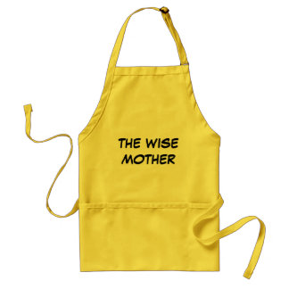 PASSOVER THE WISE MOTHER APRON