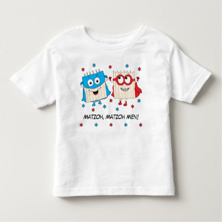 "Passover Toddler Shirt 2T-6T ""Matzoh Men"""