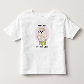 """Passover Toddler T-Shirt Customize""""Our Wise Child"""""""