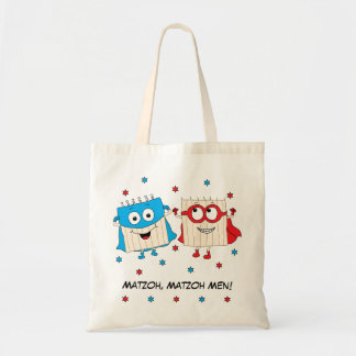 "Passover Tote Bag ""Matzoh, Matzoh Men!"""