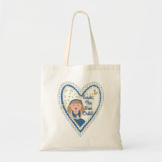"Passover Tote Bag ""The Wise Child"""