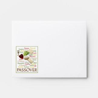 Passover Words Envelope