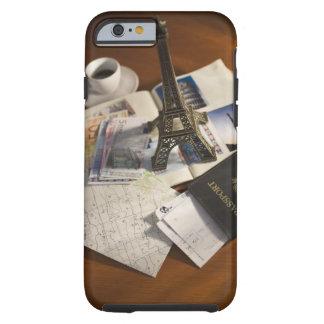 Passport and memorabilia tough iPhone 6 case