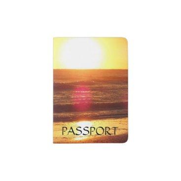 Beach Themed Passport cover