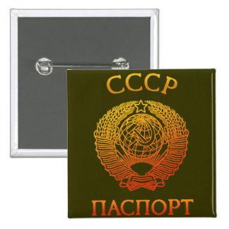 Passport soviet buttons