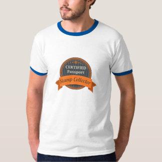 Passport Stamp Collector T Shirt