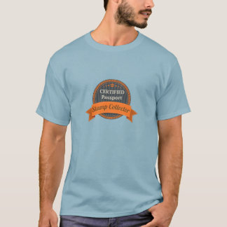 Passport Stamp Collector T-Shirt