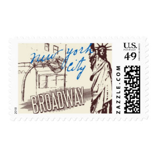 Passport to New York A by Ceci New York Postage