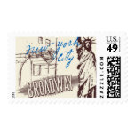 Passport to New York A by Ceci New York Postage Stamp