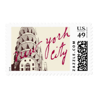 Passport to New York B by Ceci New York Postage Stamp
