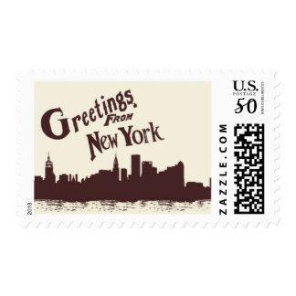 Passport to New York E by Ceci New York Postage
