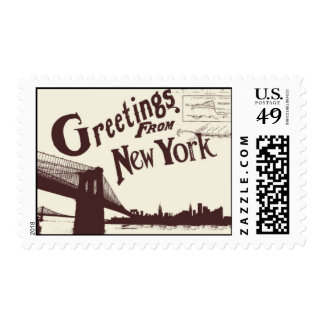 Passport to New York F - by Ceci New York Postage