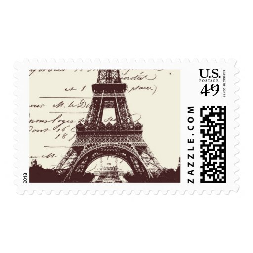Passport to Paris A by Ceci New York Postage Stamps