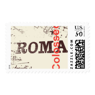 Passport to Rome C by Ceci New York Postage