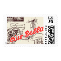 Passport to Rome D by Ceci New York Postage