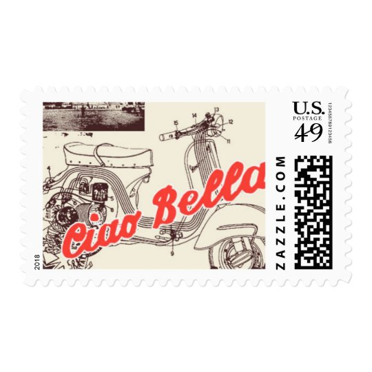 Passport to Rome D by Ceci New York Stamp