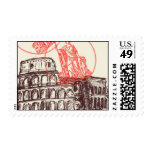 Passport to Rome E - by Ceci New York Postage