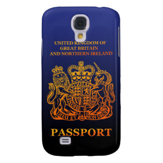 PASSPORT (UK) GALAXY S4 COVER