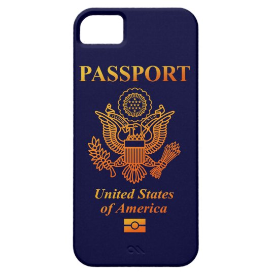 PASSPORT (USA) iPhone SE/5/5s CASE