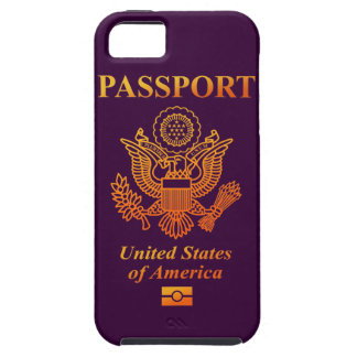 PASSPORT (USA) iPhone SE/5/5s CASE