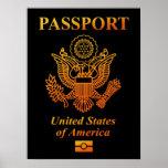 PASSPORT (USA) PRINT