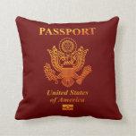 PASSPORT (USA) THROW PILLOWS