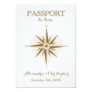 travel wedding invitations zazzle