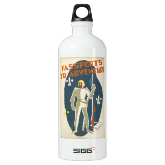 Passports to Adventure: Knights and Books SIGG Traveler 1.0L Water Bottle