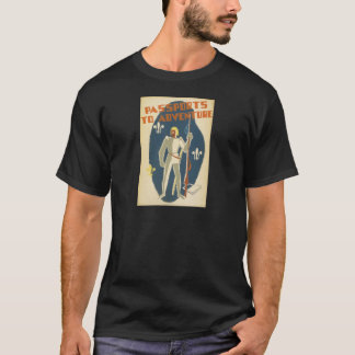 Passports to Adventure: Knights and Books T-Shirt