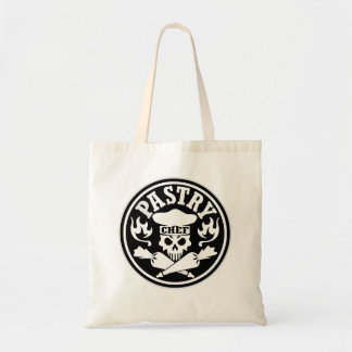 Passtry Chef and Crossed Pastry Bags Black