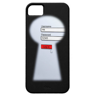 Password Security iPhone 5 Covers