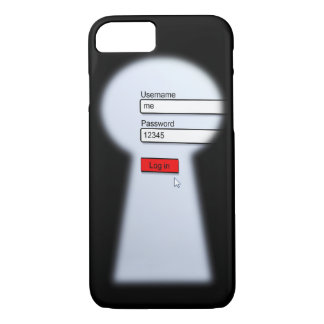 Password Security iPhone 7 Case