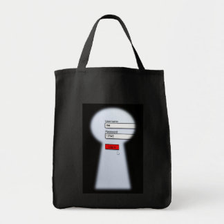 Password Security Tote Bag