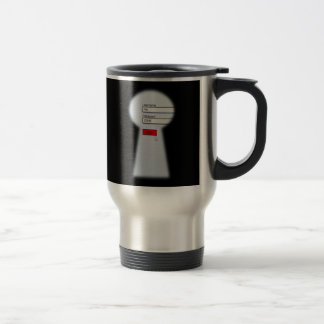 Password Security Travel Mug