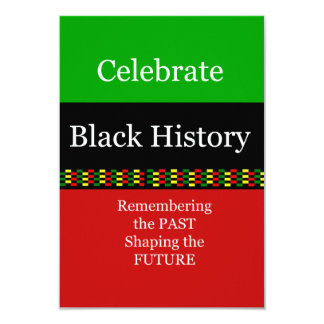 Past And Future BHM Party Invitations