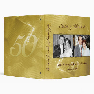 Past and Present Golden (50th) Anniversary Binder
