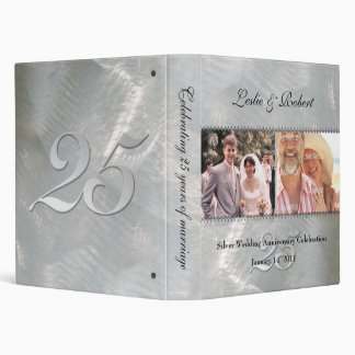 Past and Present Silver (25th) Anniversary Binder