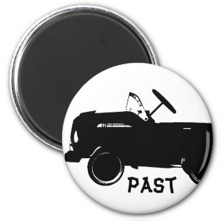Past Cars Magnet