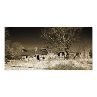 """""""Past Evidence""""(large) by CR Sinclair Photo Print"""