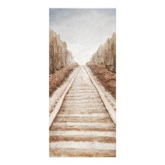 Past & Future by Fine Artist Alison Galvan Rack Card Design