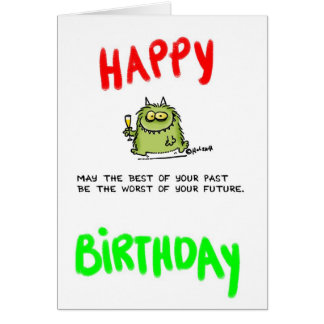 Past Greeting Card